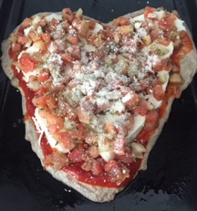 Kitchen Mania Monday: Celebrate American Heart Month with Whole Grain Bruschetta Pizza