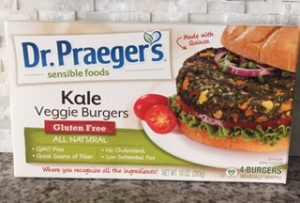 Mommy Food Finds: Dr. Praeger's Kale Veggie Burger
