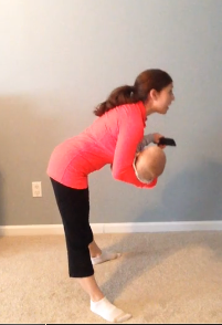 Workout Wednesday: Deadlift Squats with your Baby
