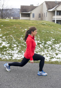 Friday Fitness Challenge: Walking Lunges