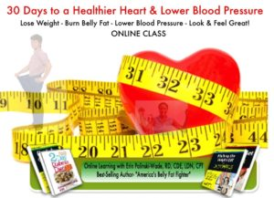 Announcing my E-Learning Nutrition Course: 30 Days to a Healthier Heart & Lower Blood Pressure
