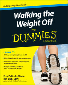 Walking The Weight Off For Dummies Now Available! WIN A FREE AUTOGRAPHED COPY!
