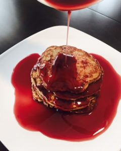 What's Better than PB&J? Peanut Butter & Jelly Pancakes!