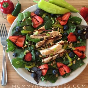 Slimming Salad in Under 5 Minutes!