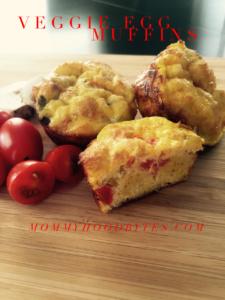 Veggie Egg Muffins for Breakfast On the Go!