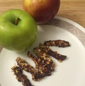 Celebrate the First Day of Fall with Healthy Apple Crisp Sticks