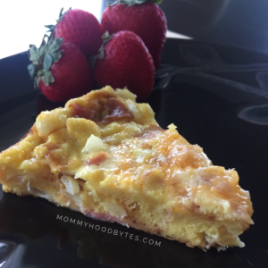 Quick Breadless Quiche