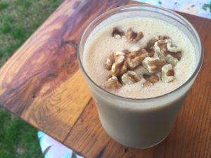 Celebrate National Peanut Butter Day with a High Protein Peanut Butter Cup Milkshake