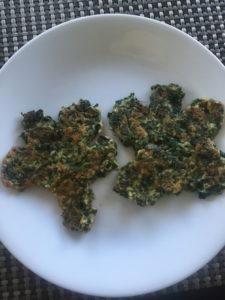 Shamrock Spinach Pancakes