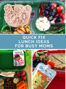 5 Quick Fix Lunch Ideas for Busy Moms