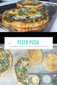 Pesto Pizza: A Healthy Version The Whole Family Will Love