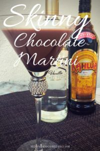 Slimmed Down Chocolate Martini Recipe