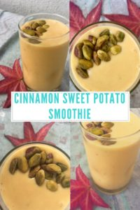 Cinnamon Sweet Potato Smoothie