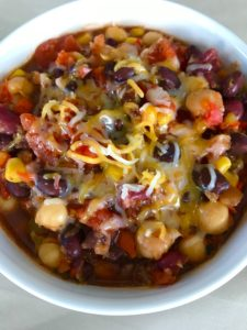 5 Minute Slow Cooker Chili For An Easy Dinner Option