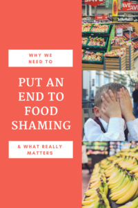 Why we need to stop food-shaming each other