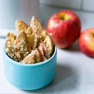 A healthier apple crisp recipe baked apple sticks recipe