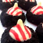 Black Bean Chocolate Peppermint Cookies