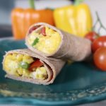 On-the-go egg breakfast burrito recipe