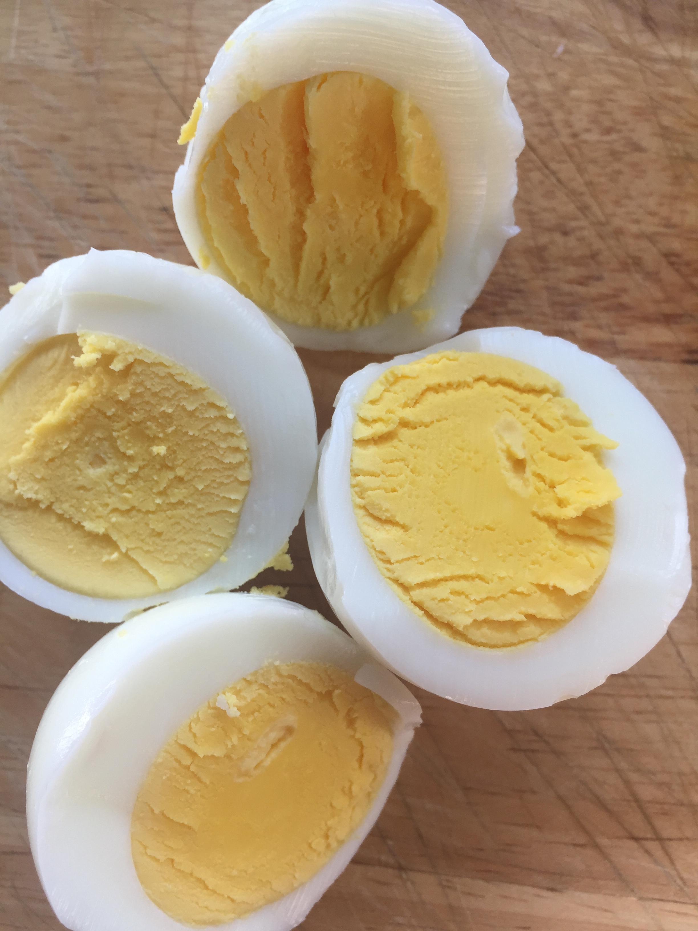 Perfect eggs every time when you hard boil eggs in the oven