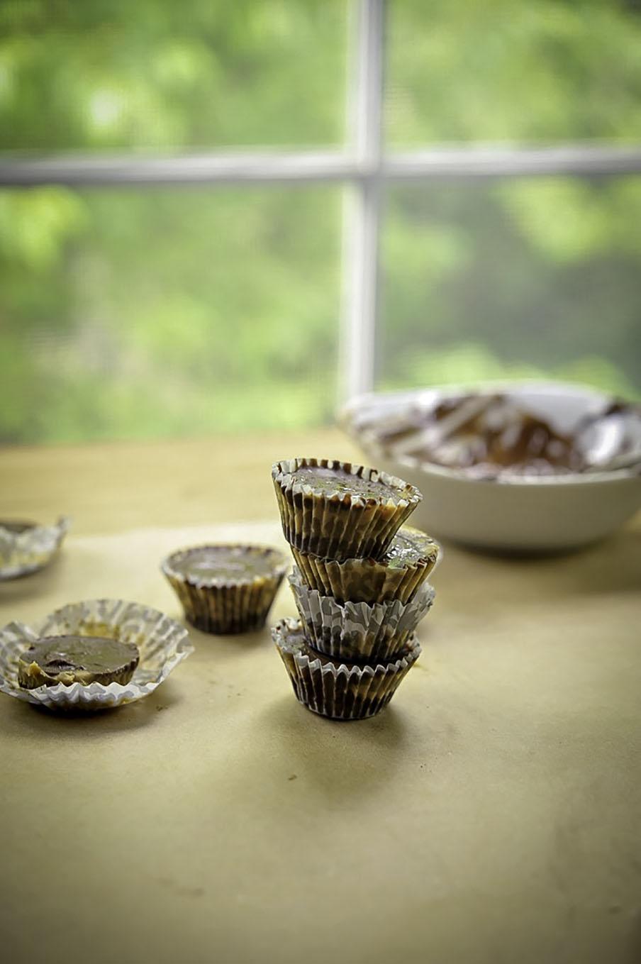 Skinny peanut butter cup copycat recipe