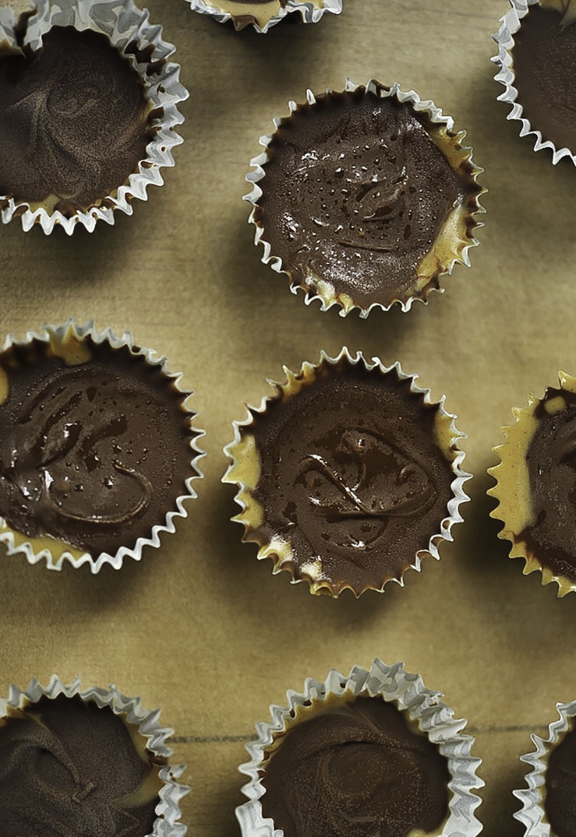 slimmed down peanut butter cup recipe