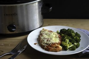 Crock Pot Chicken Parm recipe