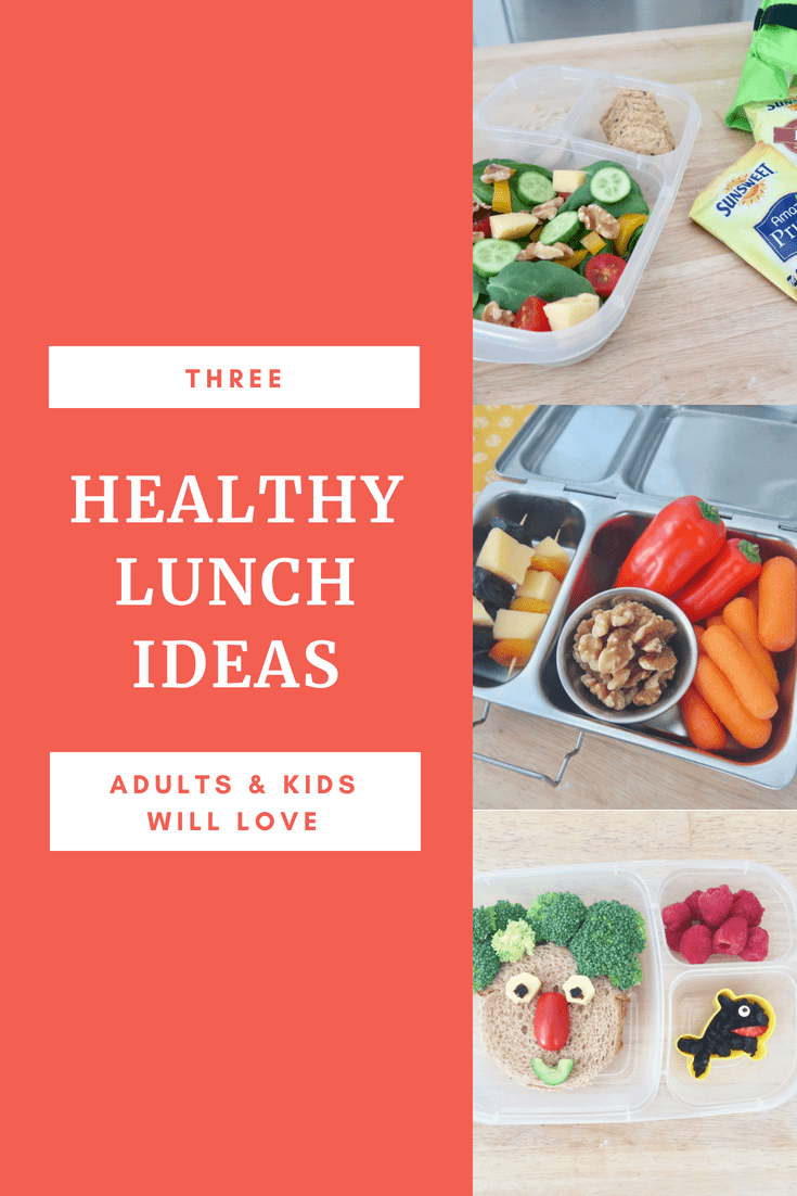 Three healthy lunch box ideas the whole family will love