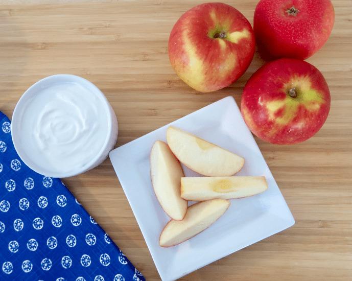 2 Ingredient Greek Yogurt Cream Cheese Frosting Dip 1