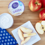 2 Ingredient Greek Yogurt Cream Cheese Frosting Dip