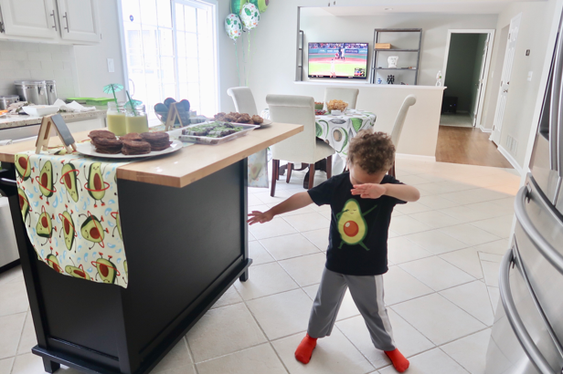 how to dab avocado dabbing tshirt for kids