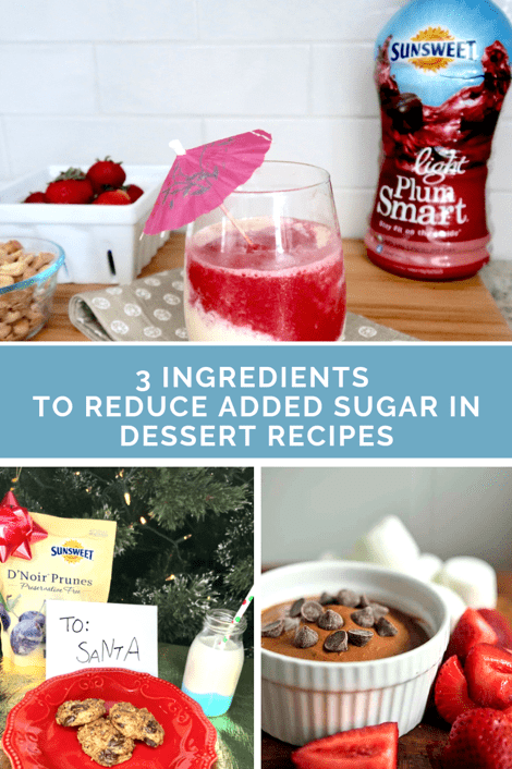 3 Must Have Ingredients to Reduce added Sugar in Dessert Recipes
