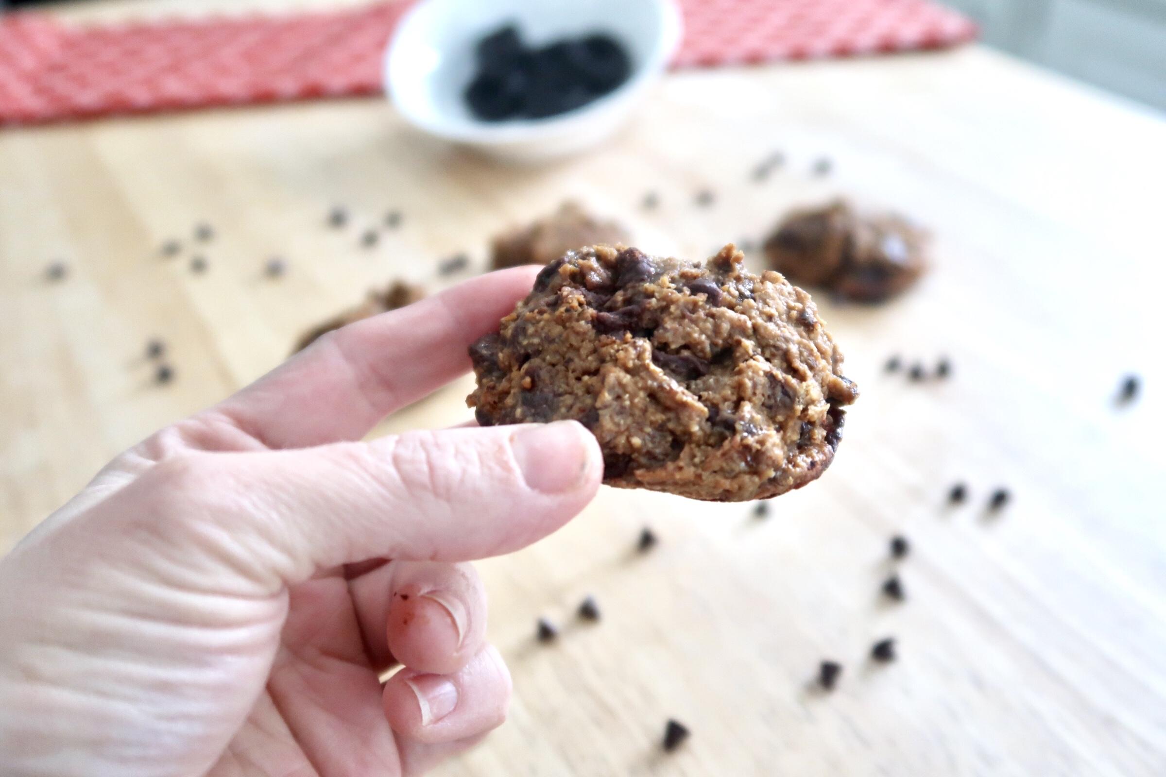low sugar high fiber Chocolate Chip Prune Cookie Recipe
