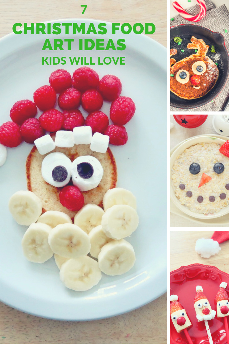 7 Christmas food art ideas kids will love