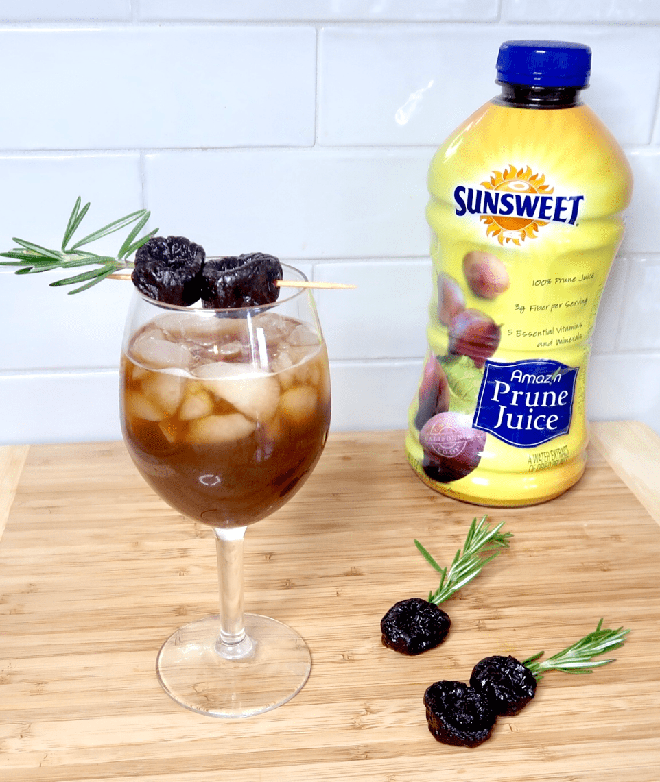 Ginger prune juice mocktail Best Foods to Eat When Pregnant: prune juice for constipation during pregnancy pregnancy mocktail prune juice mocktail