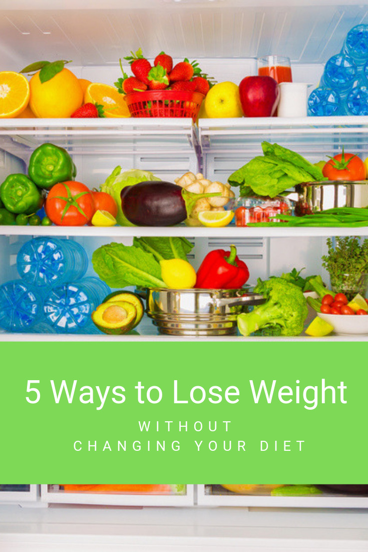 5 ways to how to lose weight without dieting or exercise
