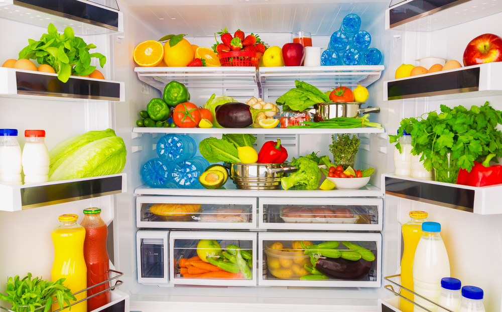 organize your refrigerator to lose weight without dieting or exercise