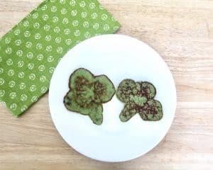 How to Make Green Shamrock Protein Pancakes