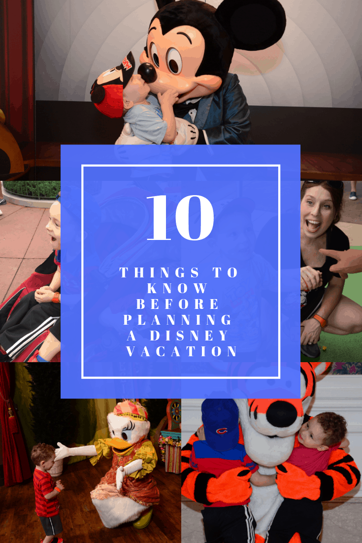 10 things to know before planning a disney world vacation