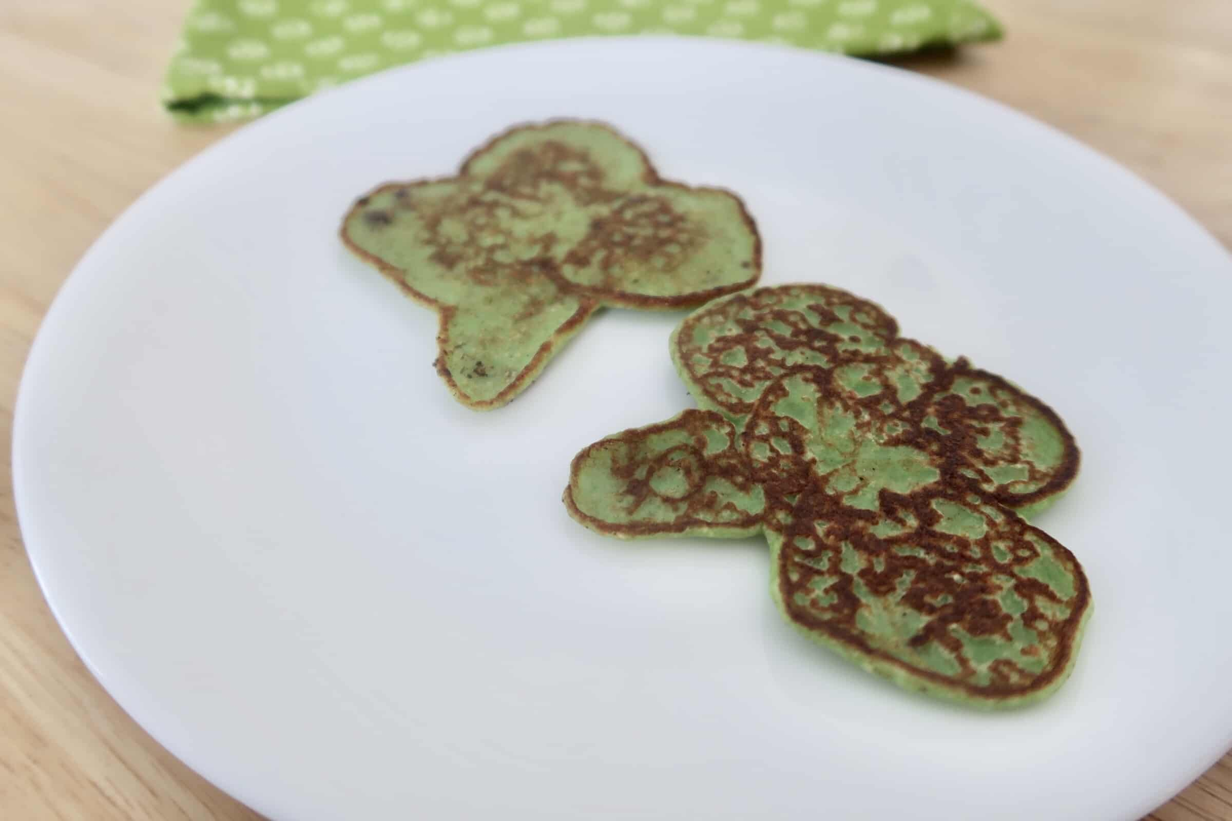 How to Make Green Shamrock Protein Pancakes
