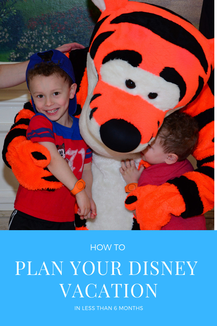 How to Plan a disney vacation in under 6 months