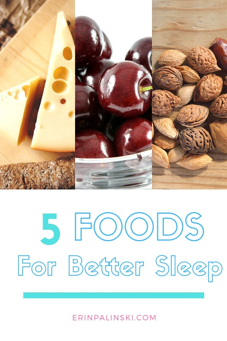5 foods for better sleep