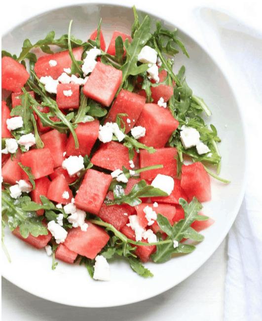 4 Watermelon Feta Salad 10 Reasons and Ways to Eat Watermelon