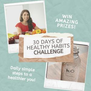 30 days to healthier habits new years challenge
