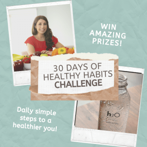 30 days to healthier habits new years challenge