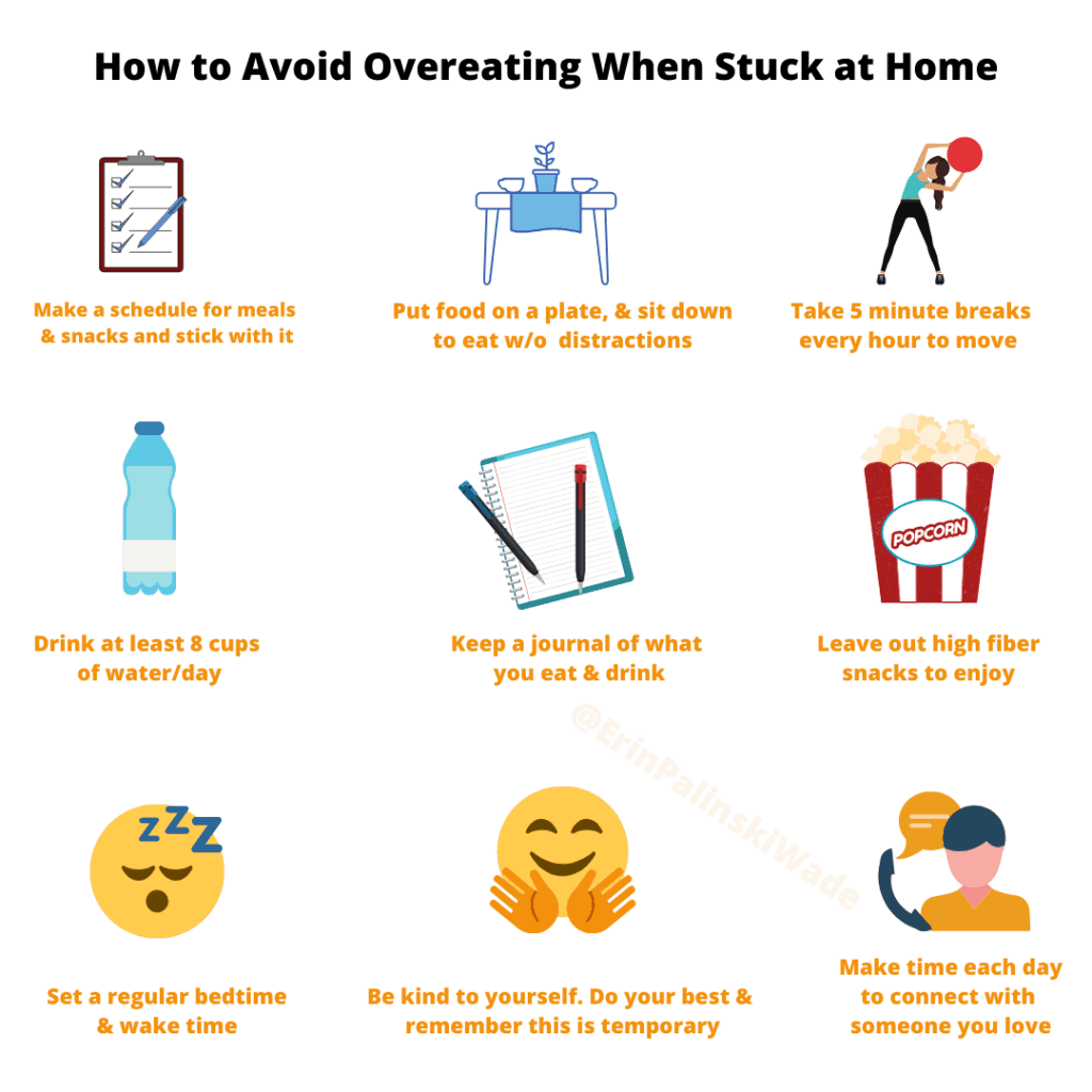 how to stop overeating when bored or stressed