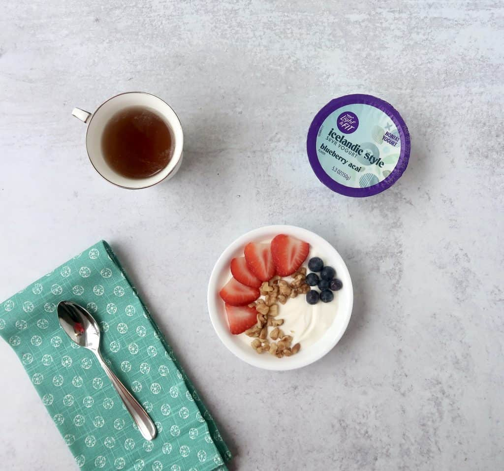 on the go snack ideas for busy people yogurt
