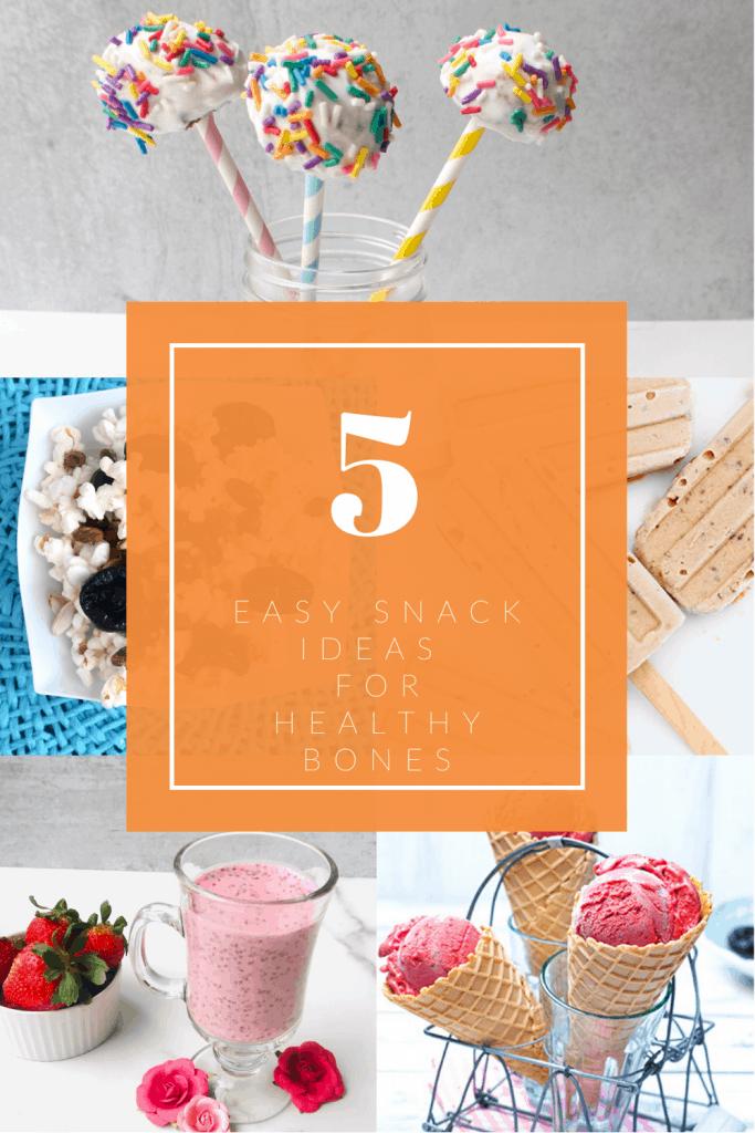5 healthy snack ideas to boost bone health