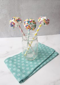 no sugar added cake pops mason jar