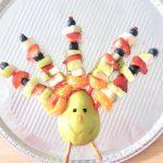 The Easiest Turkey Fruit Platter Food Art for Thanksgiving Day
