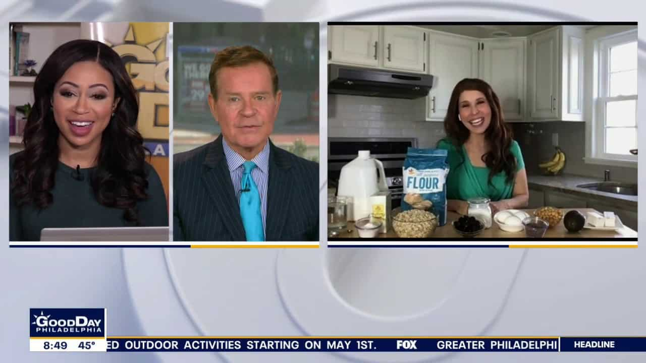 media dietitian Erin Palinski Wade appears via Skype on Good Day Philadelphia